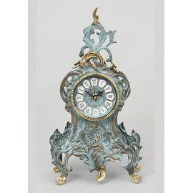 Часы Virtus RIBBON FLOWERS (бирюзовая глазурь)