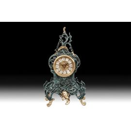 Часы Virtus RIBBON FLOWERS (синяя глазурь)
