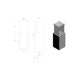 Газовый нагреватель Kratki PATIO/G31/37MBAR/B