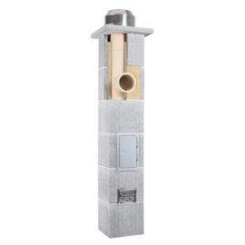 Дымоход керамический Skorsten Plus д.180 мм, 5 м