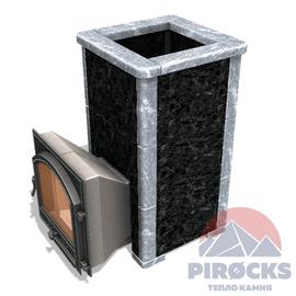 Облицовка Pirocks Оптима 18 (пироксенит + талькохлорит)