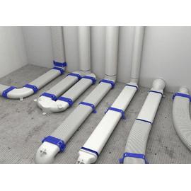 Комплект вентиляции Vilpe 190 кирпичный