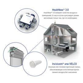 Комплект адаптивной вентиляции с HEALTHBOX 3.0 серый