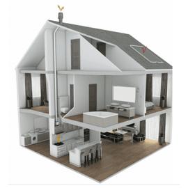 Комплект вентиляции Тихая кухня SAVO CH-52 60 cm inox