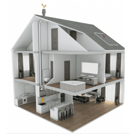 Комплект вентиляции Тихая кухня SAVO CH-52 90 cm black
