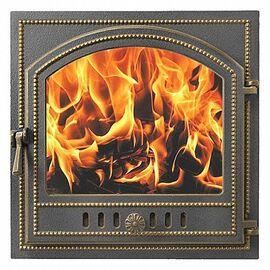 Дверка каминная Везувий 205 бронза